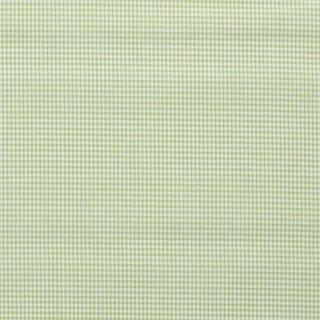 Baumwoll - Stoff Karo mini hellgrün