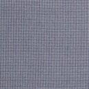 Baumwoll - Stoff Karo mini dunkelblau