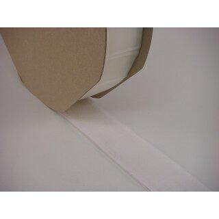 Hakenband/ selbstklebend/ weiß/ 50 mm