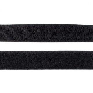 Hakenband/ zum Nähen/ schwarz/ 20 mm