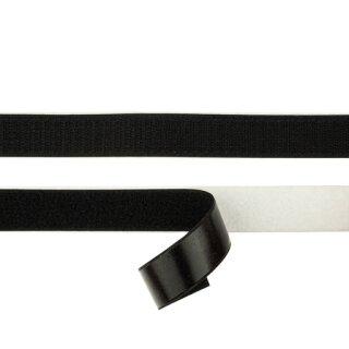 Hakenband/ selbstklebend/ schwarz/ 20 mm