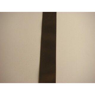 Satinband/ braun/ 40 mm