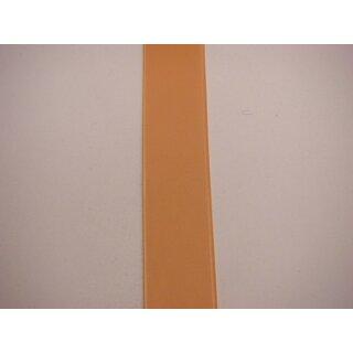 Satinband/ apricot/ 25 mm