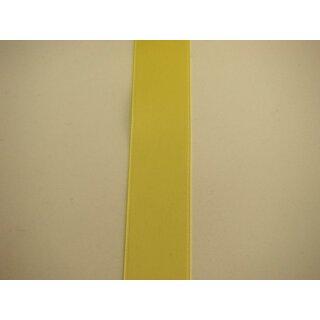 Satinband/ gelb/ 40 mm