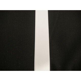 Satinband/ weiß/ 25 mm