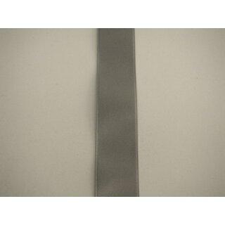 Satinband/ grau/ 16 mm