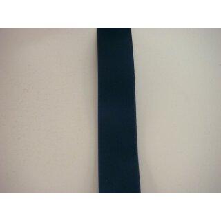 Satinband/ marine/ 40 mm