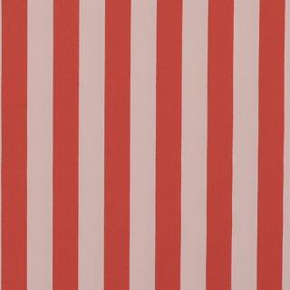 Baumwollstoff schwer Streifen breit rot