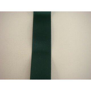 Satinband/ dunkelgrün/ 16 mm