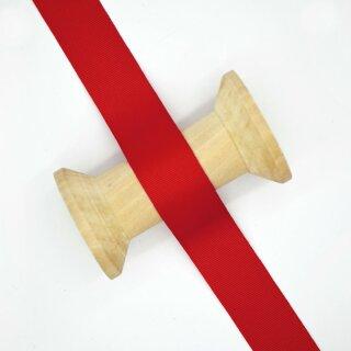 Ripsband/ hochrot ab 10 mm
