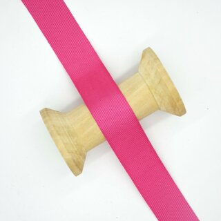 Ripsband/ fuchsia ab 10 mm