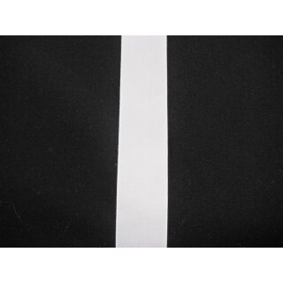 Taftband/ weiß/ 25 mm