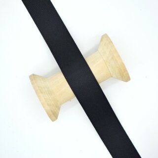 Ripsband/ schwarz ab 10 mm