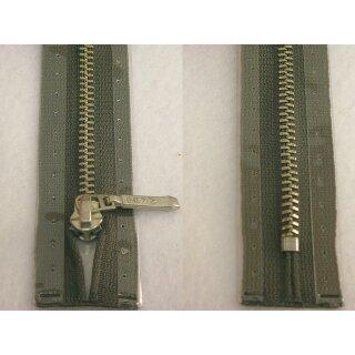 Taschen und Pulli RV/ Metallprofil silber/ 20 cm/ grau
