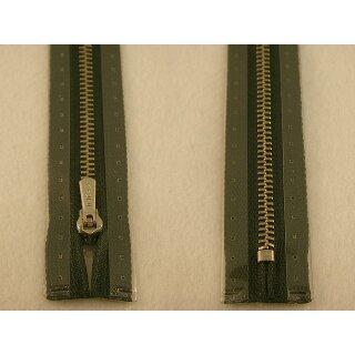 RV geschlossen/ 4 mm Metallprofil silber/ 18 cm/ oliv