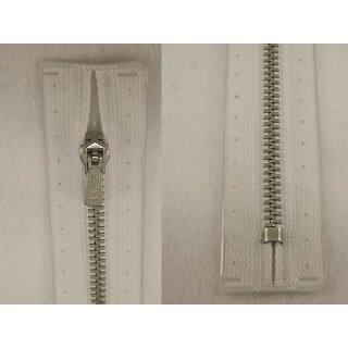 RV geschlossen/ 4 mm Metallprofil silber/ 18 cm/ weiß