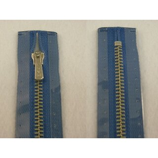 RV geschlossen/ 4 mm Metallprofil silber/ 18 cm/ blau