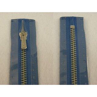 RV geschlossen/ 4 mm Metallprofil silber/ 20 cm/ blau