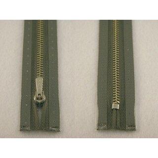 RV geschlossen/ 4 mm Metallprofil silber/ 20 cm/ salbei