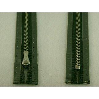 RV geschlossen/ 4 mm Metallprofil silber/ 16 cm/ dunkelgrün