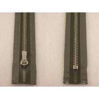 RV geschlossen/ 6 mm Metallprofil silber/ 18 cm/ grau