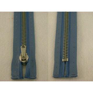RV geschlossen/ 6 mm Metallprofil silber/ 18 cm/ blau