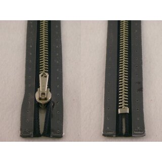 RV geschlossen/ 6 mm Metallprofil silber/ 16 cm/ marine