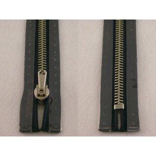 RV geschlossen/ 6 mm Metallprofil silber/ 20 cm/ marine