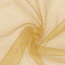 Lurex - Tüll fest gold