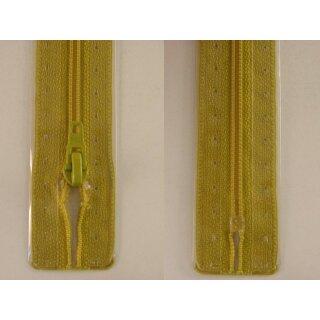 RV geschlossen/ 4 mm Kunststoffspirale/ 20 cm/ senf