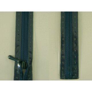 RV geschlossen/ 4 mm nahtfein Kunststoffspirale/ 30 cm/ kolonialblau