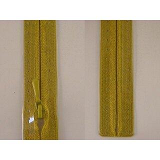 RV geschlossen/ 4 mm nahtfein Kunststoffspirale/ 30 cm/ senf