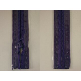 RV geschlossen/ 4 mm nahtfein Kunststoffspirale/ 30 cm/ lila
