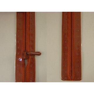 RV geschlossen/ 4 mm nahtfein Kunststoffspirale/ 30 cm/ rotholz