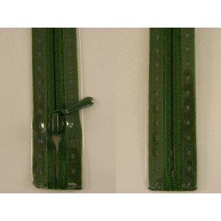RV geschlossen/ 4 mm nahtfein Kunststoffspirale/ 30 cm/ zypresse
