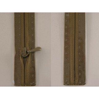 RV geschlossen/ 4 mm nahtfein Kunststoffspirale/ 30 cm/ schlamm