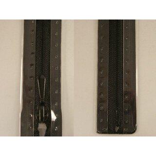 RV geschlossen/ 4 mm nahtfein Kunststoffspirale/ 30 cm/ schwarz