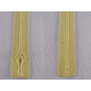 RV geschlossen/ 4 mm Kunststoffspirale/ 15 cm/ hellgelb