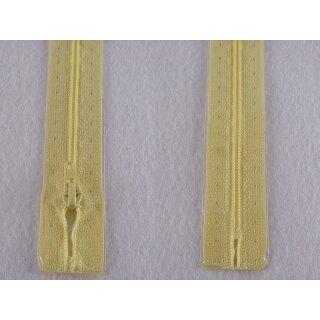 RV geschlossen/ 4 mm Kunststoffspirale/ 20 cm/ hellgelb