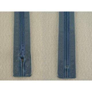 RV geschlossen/ 4 mm Kunststoffspirale/ 22 cm/ mittelblau