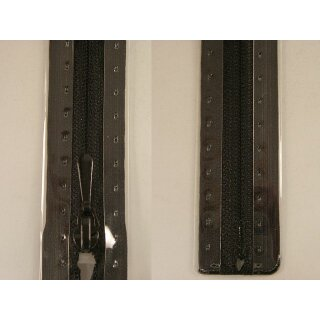RV geschlossen/ 4 mm nahtfein Kunststoffspirale/ 40 cm/ schwarz