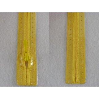 RV geschlossen/ 4 mm nahtfein Kunststoffspirale/ 30 cm/ gelb