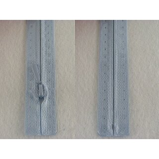 RV geschlossen/ 4 mm nahtfein Kunststoffspirale/ 30 cm/ hellblau