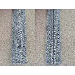 RV geschlossen/ 4 mm nahtfein Kunststoffspirale/ 40 cm/ hellblau