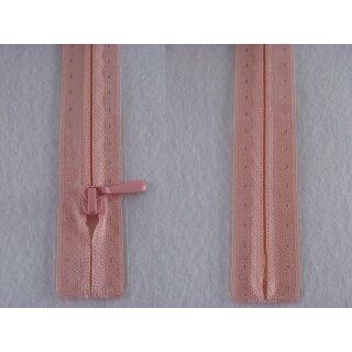 RV geschlossen/ 4 mm nahtfein Kunststoffspirale/ 60 cm/ rosa