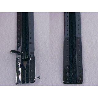 RV geschlossen/ 4 mm nahtfein Kunststoffspirale/ 30 cm/ marine