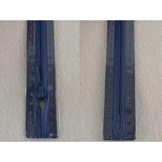 RV geschlossen/ 4 mm nahtfein Kunststoffspirale/ 50 cm/ blau