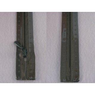 RV geschlossen/ 4 mm nahtfein Kunststoffspirale/ 30 cm/ dunkelgrau