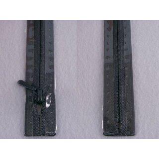 RV geschlossen/ 4 mm nahtfein Kunststoffspirale/ 30 cm/ anthrazit
