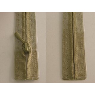 RV geschlossen/ 4 mm nahtfein Kunststoffspirale/ 60 cm/ helles graugrün
